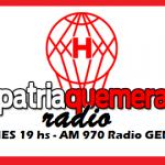 Patria Quemera Radio del 4/4/2016