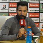 """Eduardo Domínguez: """"Fuimos superiores en muchos momentos del partido""""."""