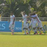Aplastante victoria del Globo en la Copa Iripanga