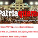 Patria Quemera Radio con Silva e importantes declaraciones de Fernando Moroni.