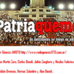 Patria Quemera Radio hoy con Adrian Calello y Gustavo Alfaro.