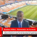 """Alfaro """"Me puse de acuerdo con la CD de Huracan en seguir con este lindo desafio…"""""""