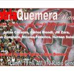 Patria Quemera Radio, hoy con Diego Mendoza
