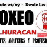 """Festival de boxeo en el Gimnasio """"Ringo Bonavena"""""""