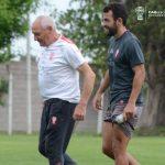 Fútbol reducido en el entrenamiento y parte médico de Marín