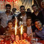 El pueblo quemero celebró los 110 años de Huracán