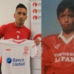 Llegó Lucas Barrios, el goleador que pidió Mohamed.
