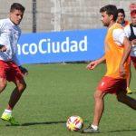 Entrenamiento previo al partido contra Deportivo Lara