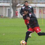 Huracán realizó un fútbol reducido en la práctica