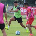 Fútbol en espacios reducidos en La Quemita