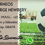 Nuevo torneo de futbol en La Quemita
