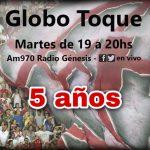 Globo Toque – Programa N°190 – Sebastián Ramirez
